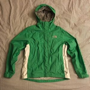 The North Face Green Rain Jacket